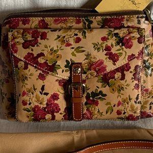 NWT Patricia Nash Antique Rose Crossbody
